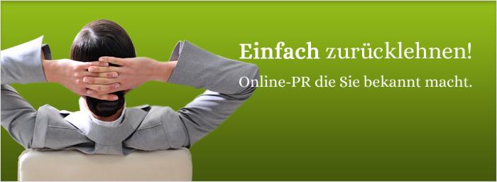 Online-PR und Online-Relations auf Ihrer Webseite, Presseportalen, Webverzeichnissen und Social Media Plattformen